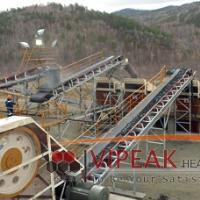 Vipeak manufacturer Belt conveyor of stone crusher for sale