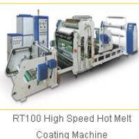 RT100 High Speed Hot Melt Coating Machine