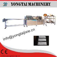 Model-KZJG medical pleated face mask making machine