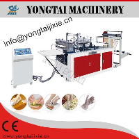 Model-STJ-A disposable plastic glove making machine