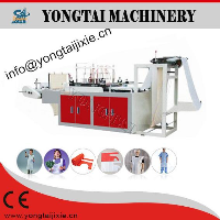Model-WQ disposable plastic apron making machine