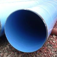 Welding type steel plastic composite pipe