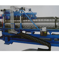PE / PVC / PP / PA / PB single wall corrugated pipe production line