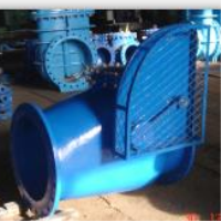 SWING CHECK VALVE WITH WEIGHT