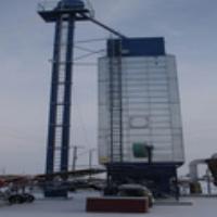 Grain drying machine