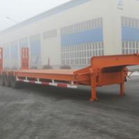 Low platform, 30 tons of 40 tons, 50 tons, 60 tons of low flat-panel semi-trailer