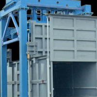 Waste compression station vertical type, horizontal waste compression station, 50 to 100 stood waste compression station