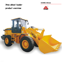 1.7 m3 wheel loader, 3ton capacity