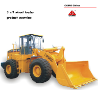 3.0 m3 wheel loader, 5ton capacity