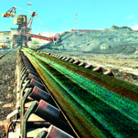 series of heat-resistant conveyor belt