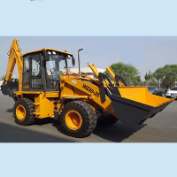 digging machine 0.3 m3, shovel backhoe