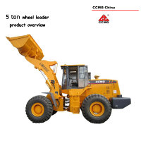 shovel loader 5t, 4X4 wheel loader 5t
