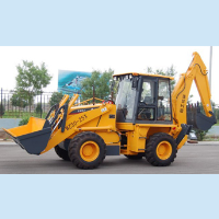 four wheel excavator,china made wheel backhoe loader