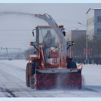 loader for snow removal, wheel drive snow blower, snow removal machine