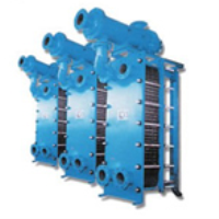 High temperature steam water heat exchanger