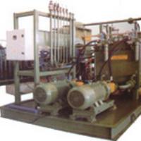 Refining furnace hydraulic station