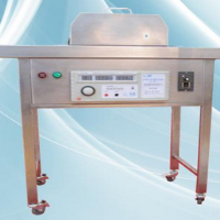 Semi automatic soft bag leak detection machine
