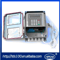 Dalian Hipeak ultrasonic flowmeter,flow meter/4-20mA and rs485 sea water flow meter(TDS-100F)