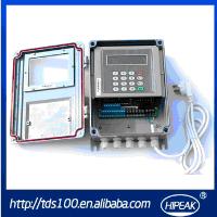 Dalian Hipeak ultrasonic flowmeter,flow meter/4-20mA and rs485 sea water flow meter(TDS-100F)