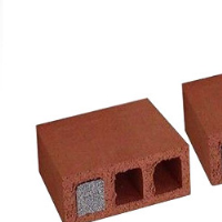 Composite insulating brick