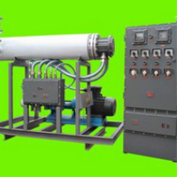 Explosion-proof heat conduction oil electric heater