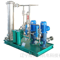 Thin oil station