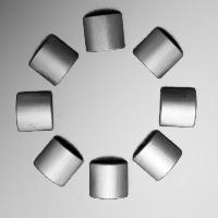 Wet pressing anisotropic ferrite magnet