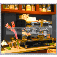 Commercial Cappuccino Machine with 12.8L Boiler