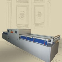 The vacuum film coating machine