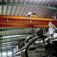 Double beam crane