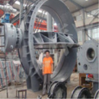 The vacuum butterfly valve