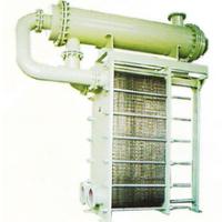 High temperature steam water heat exchanger