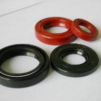 Rubber pieces of oil seal