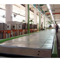 Conveyor chain plate line