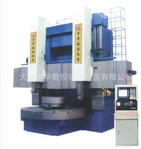 Double column vertical lathe
