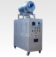 One-piece oil heater