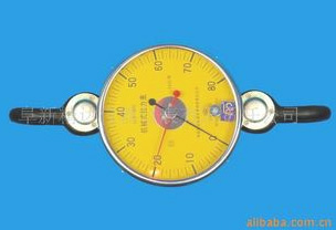 Fluorescent dial tension meter/load meter LLB - CY - 80 kn