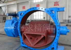 Supply of large diameter cast iron butterfly valve manufacturer The cast iron butterfly valve body