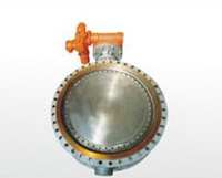 Electric Tri-Eccentric Metal Seated Butterfly Valve