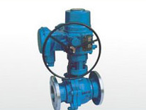 Electric Metal Seated Ball Valve