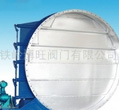 Electric circular shutter type butterfly valve adjustment