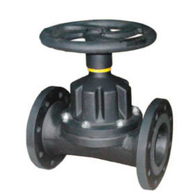 CS41H cut-through lining rubber diaphragm valve steel casting cut-through lining rubber diaphragm valve diaphragm valve