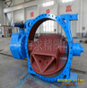 Large-diameter cast iron butterfly valve