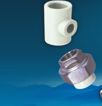 Hot water pipes and pipe fittings