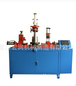 CNC hydraulic double action tensile machine