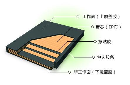 series of polyester conveyor belt