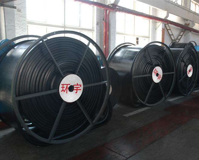 series of steel cord conveyor belt