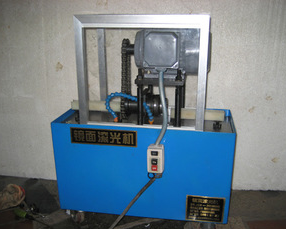 Patent rolling polishing machine