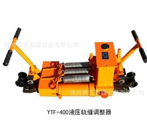 The unidirectional hydraulic rail gap adjusting device