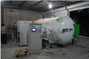 Vacuum drying equipment